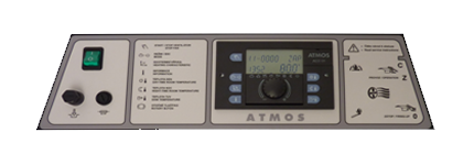 Panel s elektronickou regulací ATMOS ACD 01