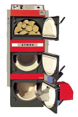 Kombikessel für Holz und Pellets oder Heizöl | ATMOS - gehört zu dem ...