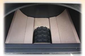 Вид верхней загрузочной камеры