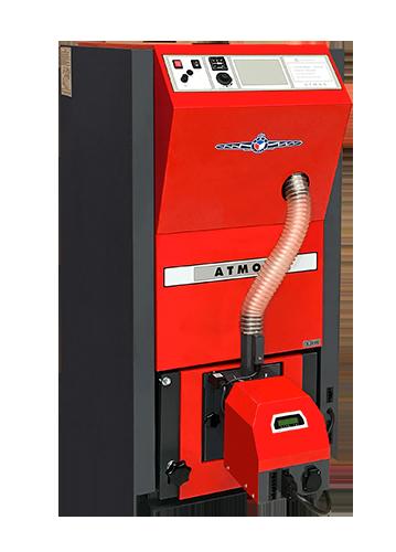Ganz und zu Extrem Kompakte Pelletskessel | ATMOS - gehört zu dem größten Hersteller @JY_48