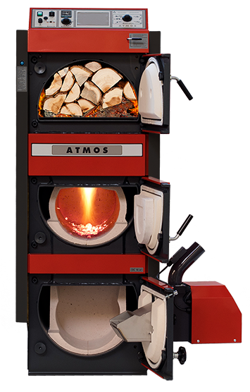 Combi Boilers For Wood And Pellets Or Heating Oil Atmos