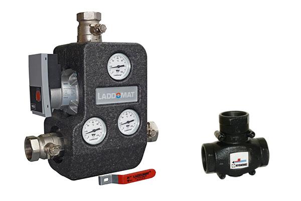Laddomat 22 a termoregulační ventil
